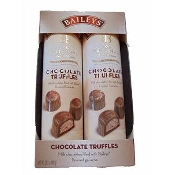 Baileys Irish Cream Non Alcoholic Chocolate Ganache Truffles (2 Pack) 14.1 Oz