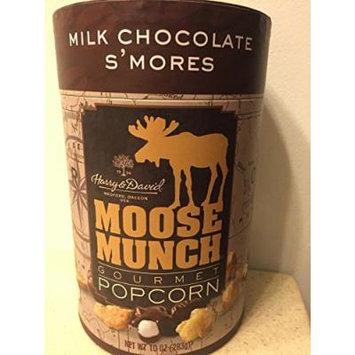 Harry & David, Moose Munch Gourmet Popcorn, Milk Chocolate S'mores, 10 Oz.