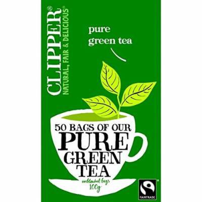 Clipper - Fairtrade Pure Green Tea   50 Bag