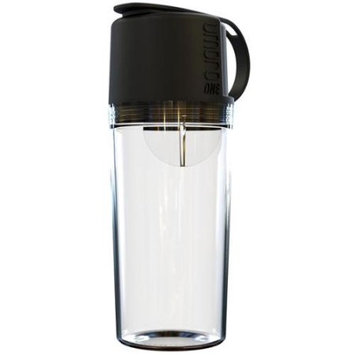 Umoro One The Ultimate Water Bottle Shaker in One Midnight Black