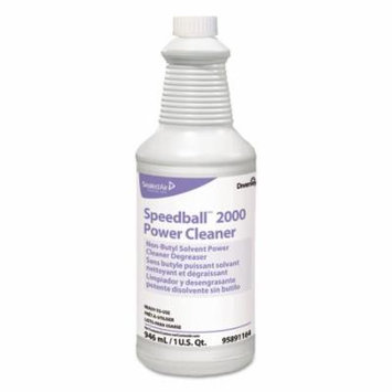 Diversey Speedball 2000 Heavy-Duty Cleaner, Citrus, Liquid, 1qt. Spray Bottle, 12/CT