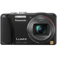 Panasonic Lumix DMC-ZS20 14MP Black Digital Camera