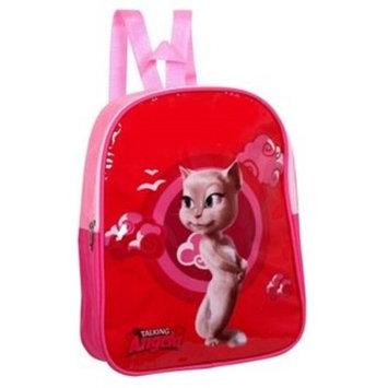 Talking Tom Angela Cat School Nursery Backpack/Rucksack Bag - Red