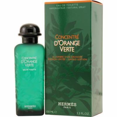 Hermes D'orange Vert Concentre Edt Spray 3.3 Oz By Hermes