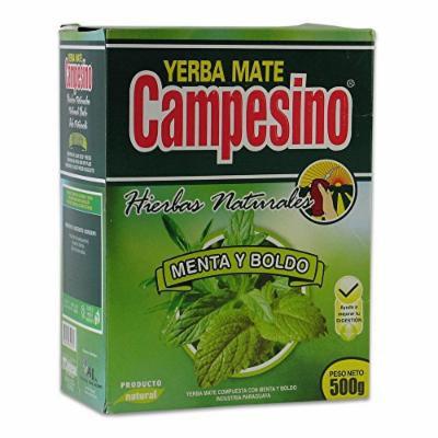 Campesino Yerba Mate With Mint & Boldo Calming Blend 500G