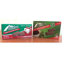 Andes Chocolate Mint Holiday Set: Single Keurig K-Cup Coffee (12 Count) and Creme de Menthe Thins (28 Count)