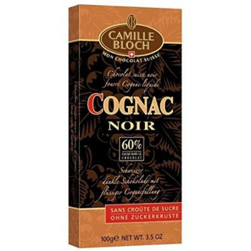 Camille Bloch Cognac Noir 100g
