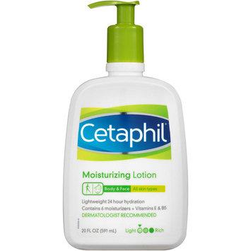 Cetaphil Moisturizing Lotion for All Skin Types, Fragrance-Free, 20 fl oz