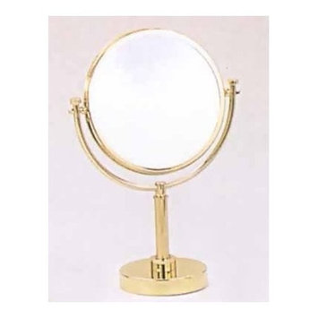 Allied Brass DM-4/2X-VB 8-Inch Table Mirror with 2x Magnification, 15-Inch, Venetian Bronze