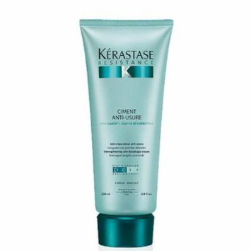 Kerastase Resistance Ciment Anti-usure Strengthening Anti-breakage Creme, 6.8 Oz