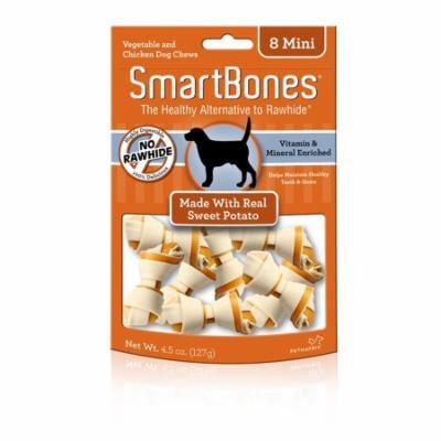 SmartBones Chicken & Vegetable Chews Mini Sweet Potato Dog Treats, 8 Ct