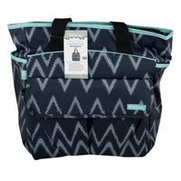 iPack Baby Diaper Bag Tote With Changing Pad Black, 1.0 CT