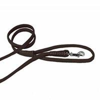 Dogline Round Leather Leash W1/4