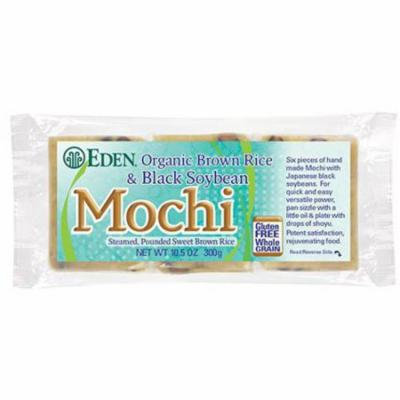 Eden Brown Rice & Black Soybean Mochi, Organic, 10.5 Ounce (Pack of 5)