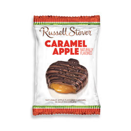Russell Stover Chocolates Russell Stover 1.3 OZ Milk Chocolate Caramel Apple Bar