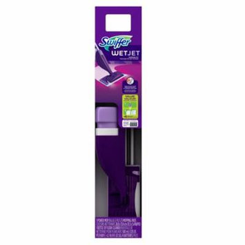 Swiffer WetJet Floor Mop Starter Kit, 1 Power Mop, 5 Mopping Pads, and Floor Cleaner