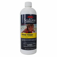 HaloSource SeaKlear 1110013 Metal Klear 1Qt Swimming Pool Stain Prevent Removal