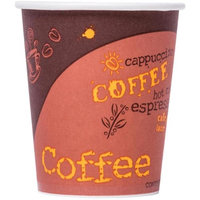 Solo 378SI-0041 CPC 8 oz Bistro Poly Paper Hot Cup Case of 1000
