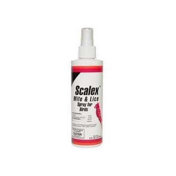 Miracle Care 424308 Scalex Mite and Lice Spray, 8 oz Bottle