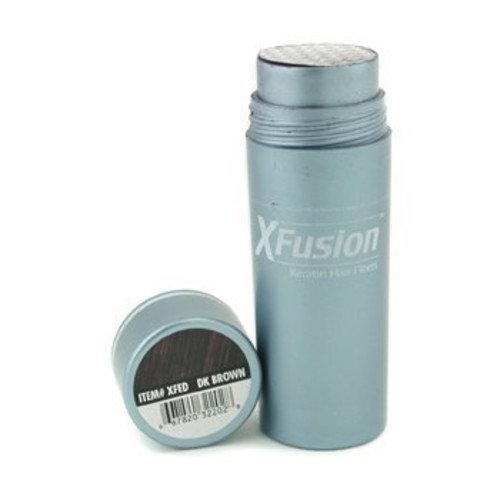 XFusion Dark Brown Keratin Hair Fibres 28 Gram