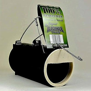 Various - Black Hole Gopher Trap. Easy-to-set trap, catches rodents quickly