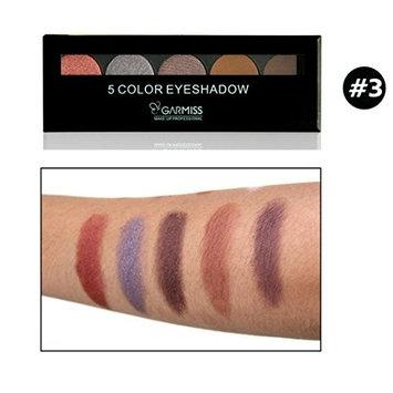 5 Colors Sparkly Eyeshadow Powder,YOYORI Natural Nude Shimmer Glitter Highly Pigment Eye Shadow Press Powder Mineral Professional Gel Cosmetics Eye Makeup