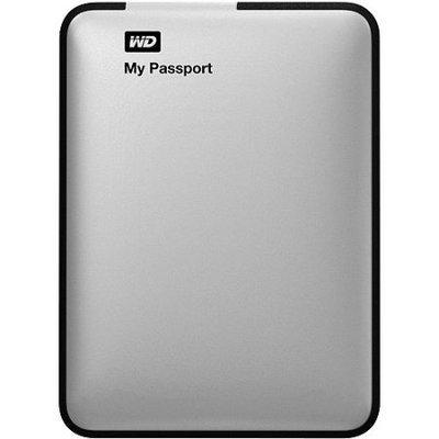 Western Digital Passport 1TB Portable Hard Drive - Silver