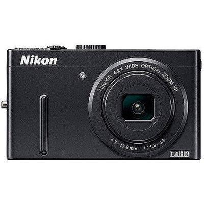 Nikon - Coolpix P300 122-Megapixel Digital Camera - Black