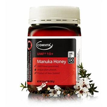 Comvita Certified UMF 10+ (Premium) Manuka Honey I New Zealand's #1 Manuka Brand I Non-GMO, Halal, and Kosher Certified I 500g (17.6oz)