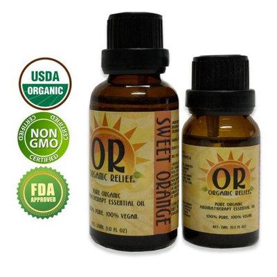 Organic Relief - Organic Sweet Orange Essential Oil 15ml