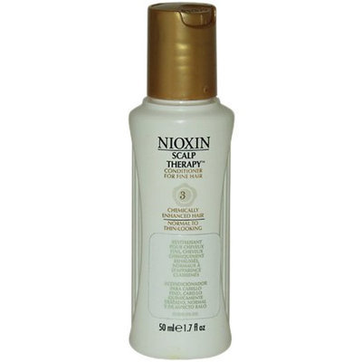 Nioxin System 3 Scalp Therapy Conditioner For Fine Chem. Enh. Normal-Thin Hair 1.7 oz Scalp Therapy