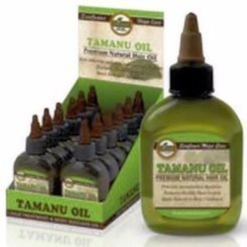Difeel Tamanu Oil Premium Natural Hair Oil 2.5 oz. (Pack of 3)