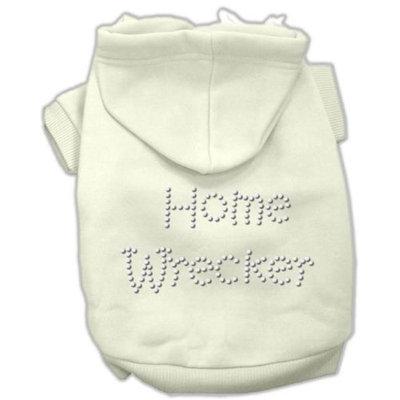 Mirage Pet Products 5438 XXLCR Home Wrecker Hoodies Cream XXL 18