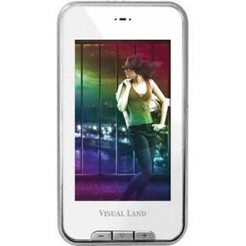 Visual Land - V-Touch Pro 8GB Video MP3 Player - White