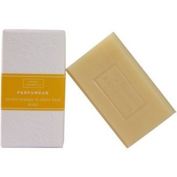Arran Aromatics of Scottland - Organic Perfumeur Sweet Orange & Clove Bud - Bar Soap - 125g