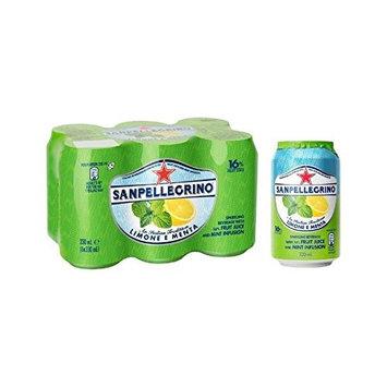 San Pellegrino Lemon & Mint 6 x 330ml (Pack of 4)