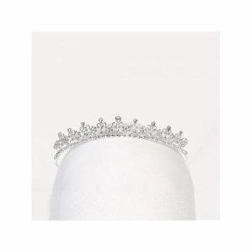 Angels Garment Girls Silver Rhinestone Precious Special Occasion Tiara