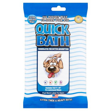 International Veterinary Science Int L Veterinary Science Quick Bath Wipes Dog Small