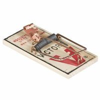 Victor 8-Pack Metal Pedal Mouse Trap