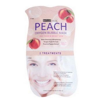 (3 Pack) BEAUTY TREATS Peach Oxygen Bubble Mask - Peach