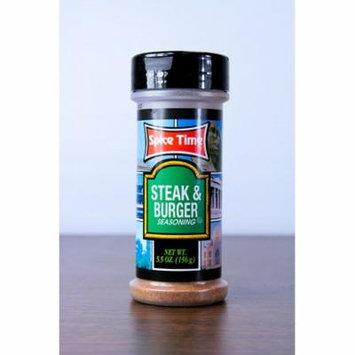 Pack of 12 Spice Time Steak & Burger Seasonings 5.5 oz. #OO475
