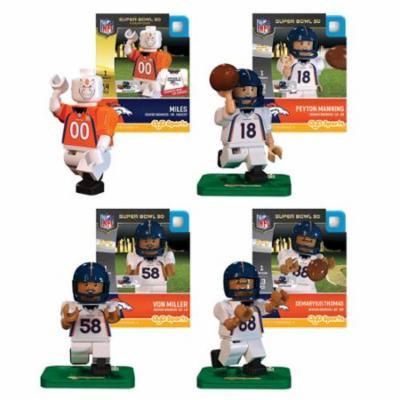 Denver Broncos Super Bowl 50 Champions NFL Oyo Set of 4