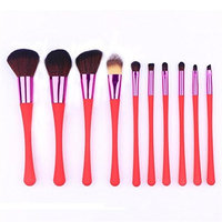 Makeup Brush Set,Putars 10PCS Professional Women Sexy Soft Material Cosmetic Makeup Brush Set For Perfect Application,For Eyebrow Eyeliner, Blush, Foundation, Contour and Blending Blue