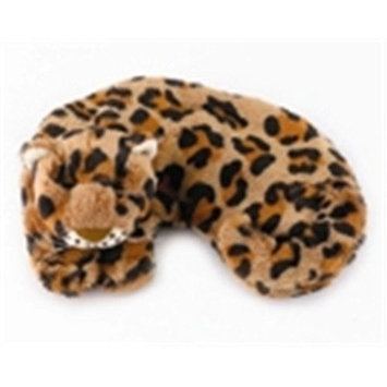 Warm Whiskers Leopard Eye Pillow, Brown/Black/White