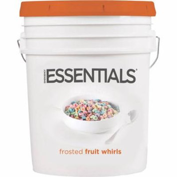 Emergency Essentials SuperPail Frosted Fruit Whirls Cereal, 6.7 lbs