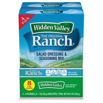 Supplier Generic Hidden Valley ® Original Ranch ® Salad Dressing & Seasoning Mix, Gluten Free - 8 packets