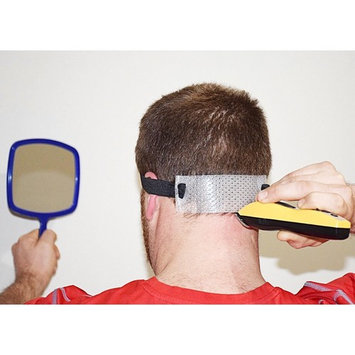 Jaorganics Haircut Neck Guide- Template and Mirror for Shaving and Keeping a Clean and Curved Neck Line: Stencil for Neckline Haircut, Do-It-Yourself, mens, for him
