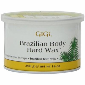 GiGi Brazilian Body Hard Wax 14 oz (Pack of 3)