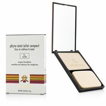 Sisley Phyto-Teint Eclat Compact Foundation, No. 0+ Vanilla, 0.35 Ounce