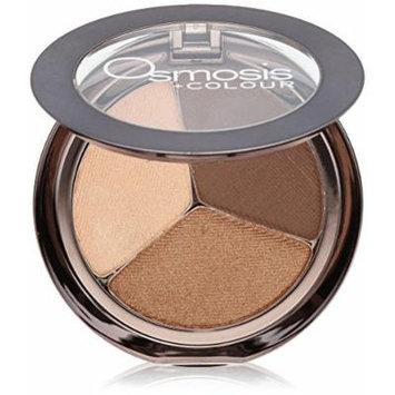 Osmosis Skincare Eye Shadow Trio, Bronzed Cocoa
